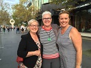 Ann Turner, Shirley Bramwell & Wendy Turner, 29 March 2017 celebrating Shirley's 60th Birthday at Crown Promenade Melbourne Australia. Provided by Wendy Turner.