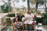 Supplied by John Lister Bramwell; John & Jean Bramwell on holiday at Lake Towerrinning SW Australia abt 2000